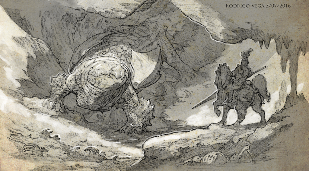 Earth Dragon by Rodrigo-Vega