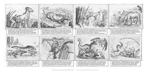 Beasts, The Alchemists Grimoire. by Rodrigo-Vega