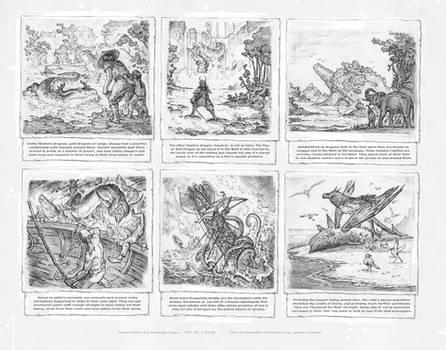 Eastern Dragons and Marine Beasts.