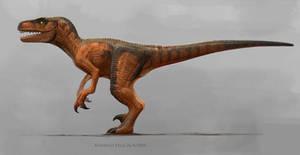 Jurassic Park Series 1 Velociraptor.