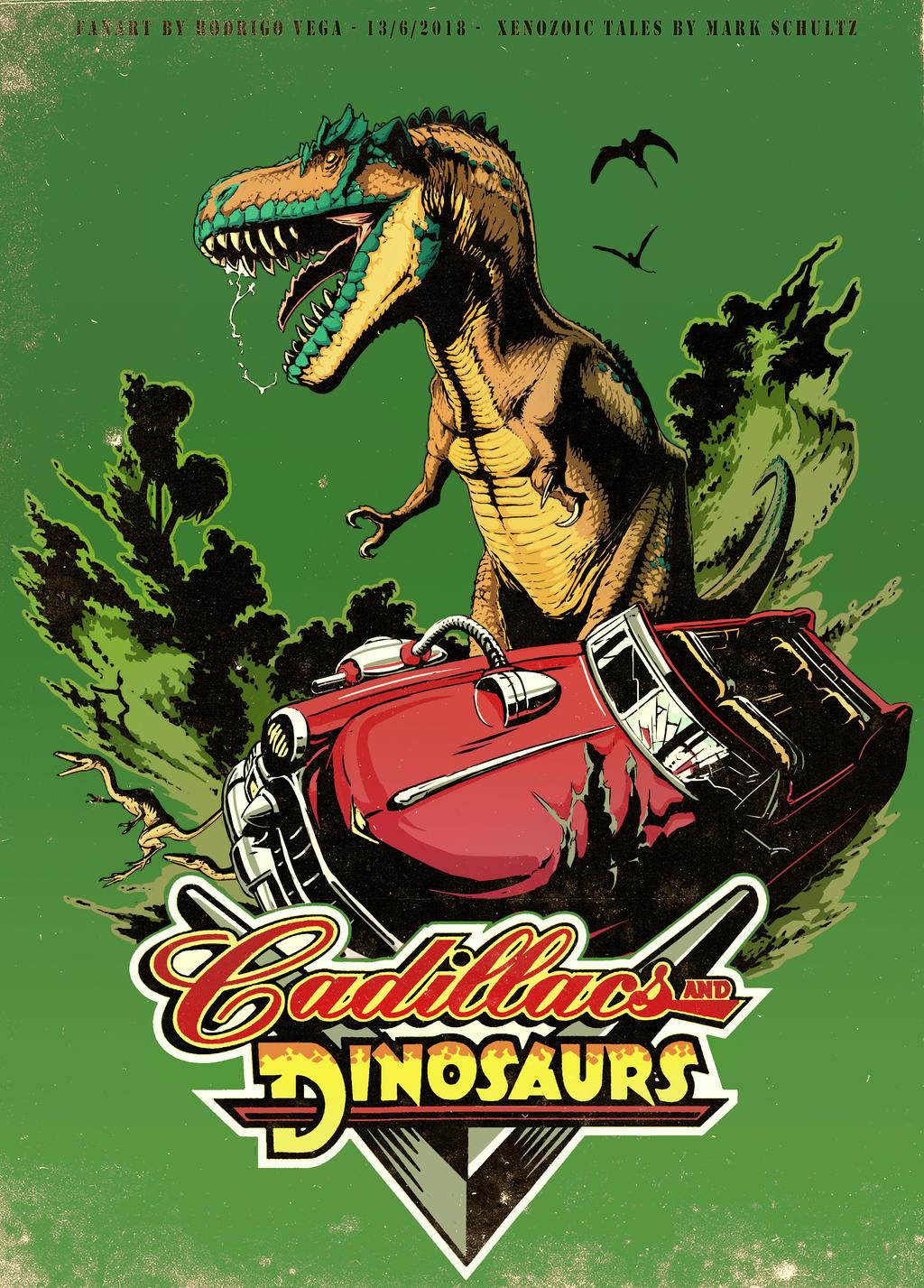 Cadillacs and Dinosaurs!