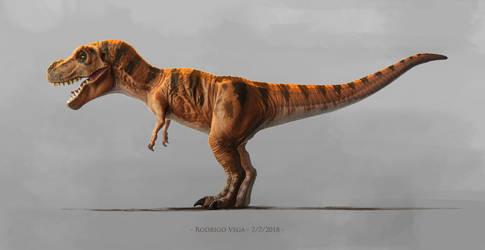 Jurassic Park Series 1 Juvenile Tyrannosaurus. by Rodrigo-Vega