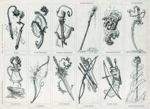 Quest Weapons Set