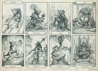 Goblin Folk. by Rodrigo-Vega
