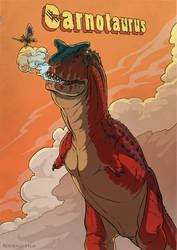Carnotaurus Poster
