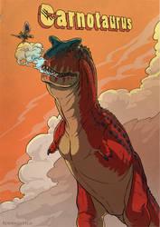 Carnotaurus Poster by Rodrigo-Vega