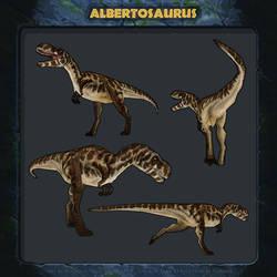 Jurassic Park Revolution: Albertosaurus.