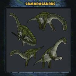 Jurassic Park Revolution: Camarasaurus.