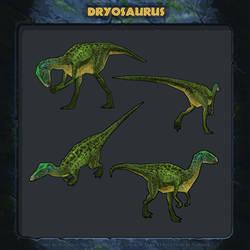 Jurassic Park: Revolution - Dryosaurus.
