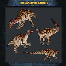 Jurassic Park: Revolution - Edmontosaurus.