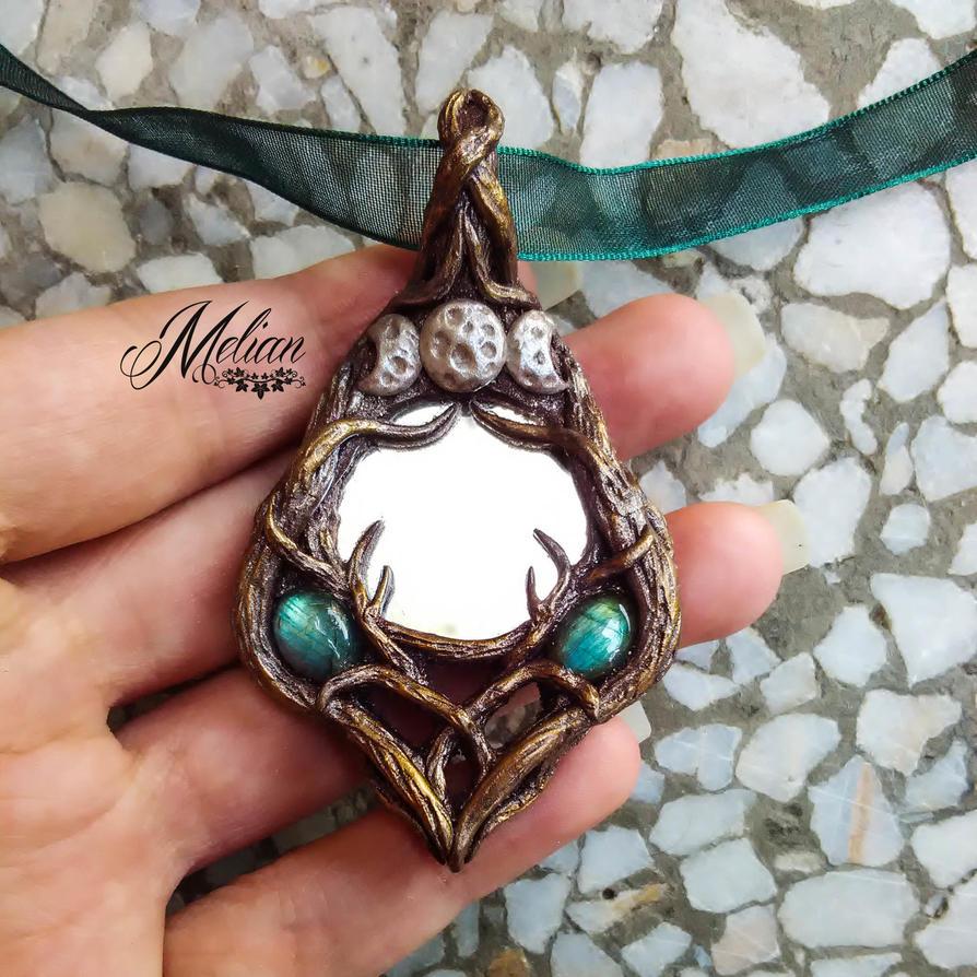 Magical woodland mirror by Melian-art