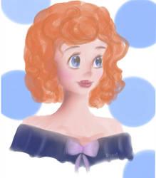 [DA] Sweet girl by anulkabloom