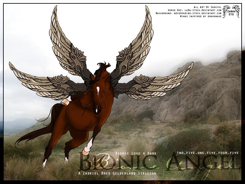 HP - Bionic Angel by fillyrox