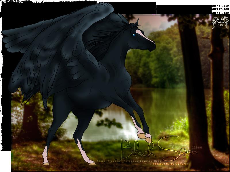 HP - Black Swan by fillyrox