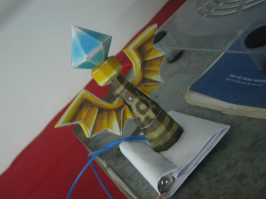 Sight Ward, papercraft, LoL by soiden135