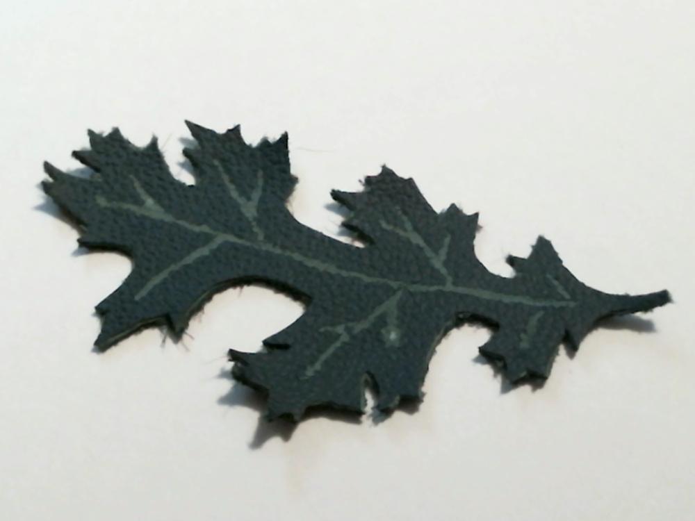 Leather Oak Leaf by SkepticRaven