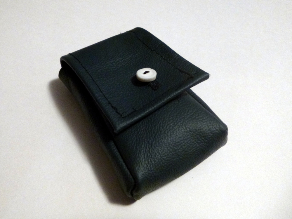 Leather Camera Case by SkepticRaven