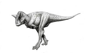 Carnotaurus sastrei by MALvit