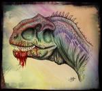 Majungasaurus  portrait