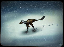 Troodon in the north by MALvit