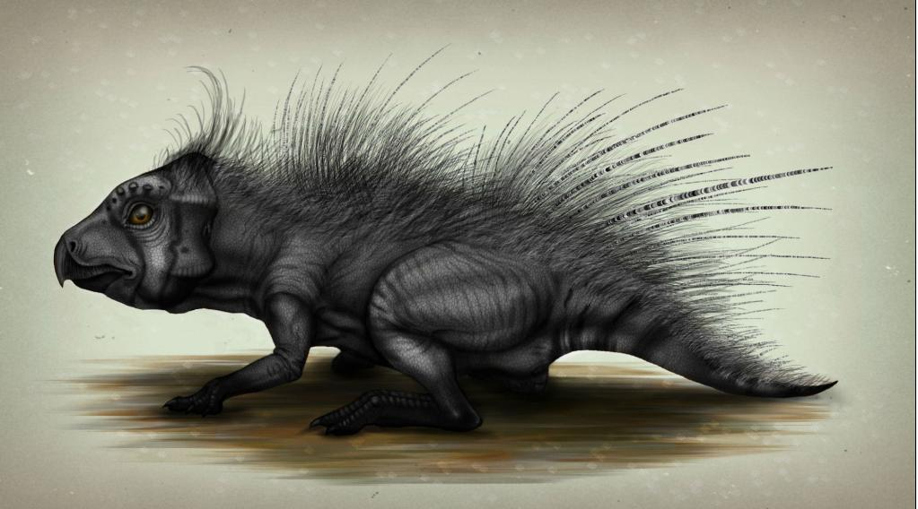 Leptotseratops porcupine by MALvit