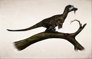 Austroraptor camouflage by MALvit