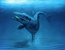 Tylosaurus riapaeus by MALvit