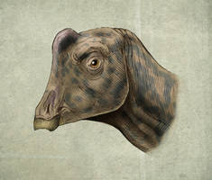 Parasaurolophus  Joe by MALvit
