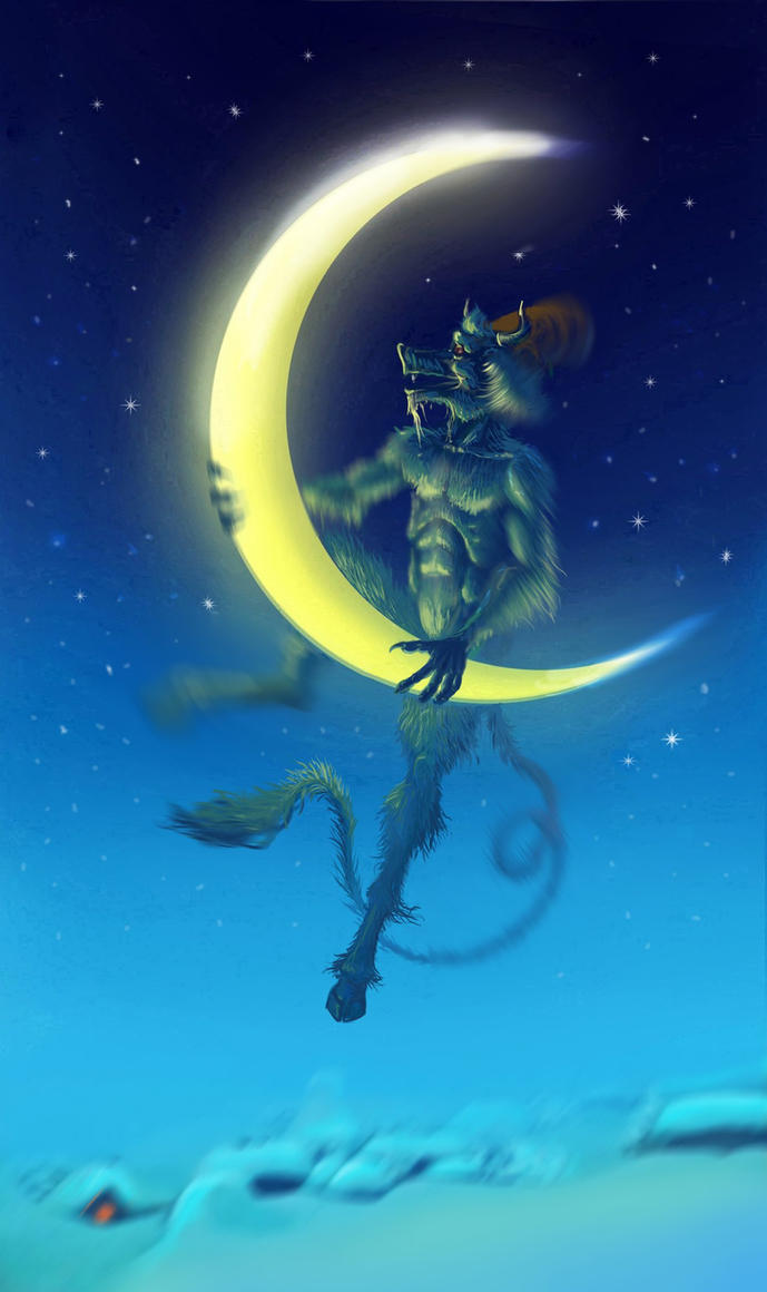 Flying the devil steals month by MALvit