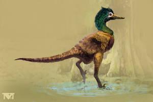 Halszkaraptor escuilliei.
