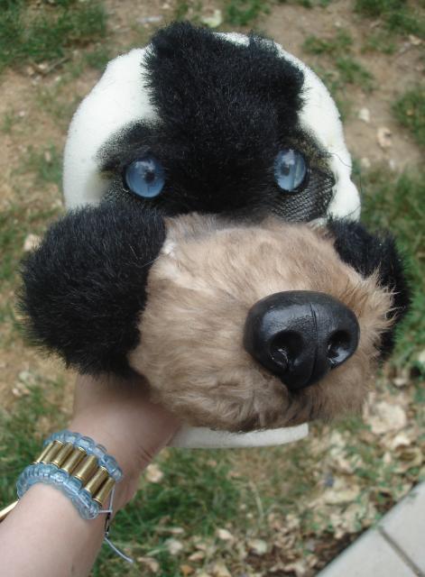 realistic bear fursuit