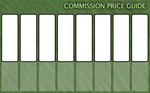 Commission Price Guide Template