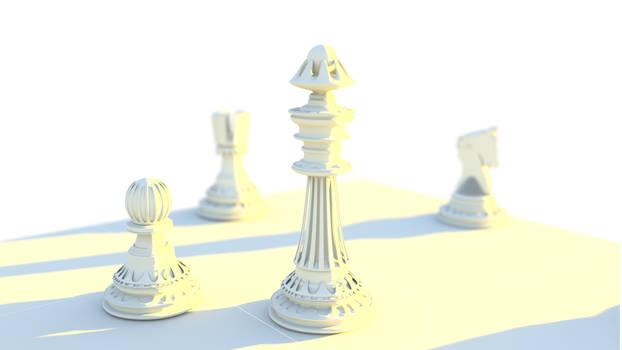 Chess - Blender3D