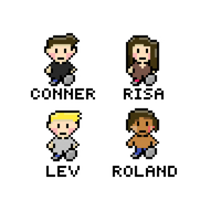 Unwind cast in Earthbound style by bxb777