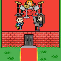 Happy Jack band in Earthbound/Mother 3 style! by bxb777