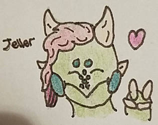 Jelly Headshot traditional  by bxb777