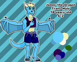 James the Dragon reference
