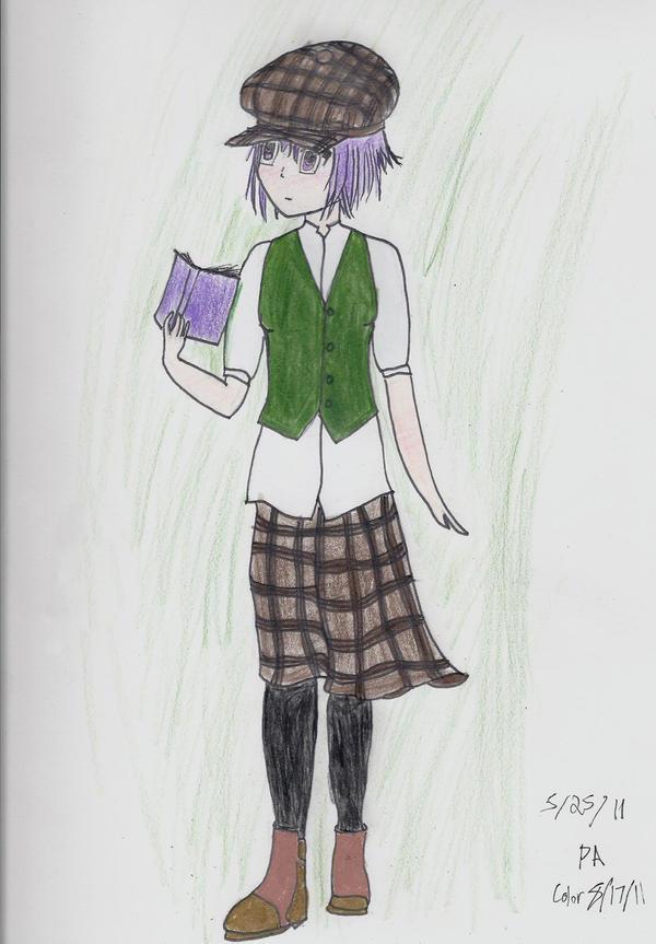 Brave Detective Yuki, pencils by MoonlitSilver