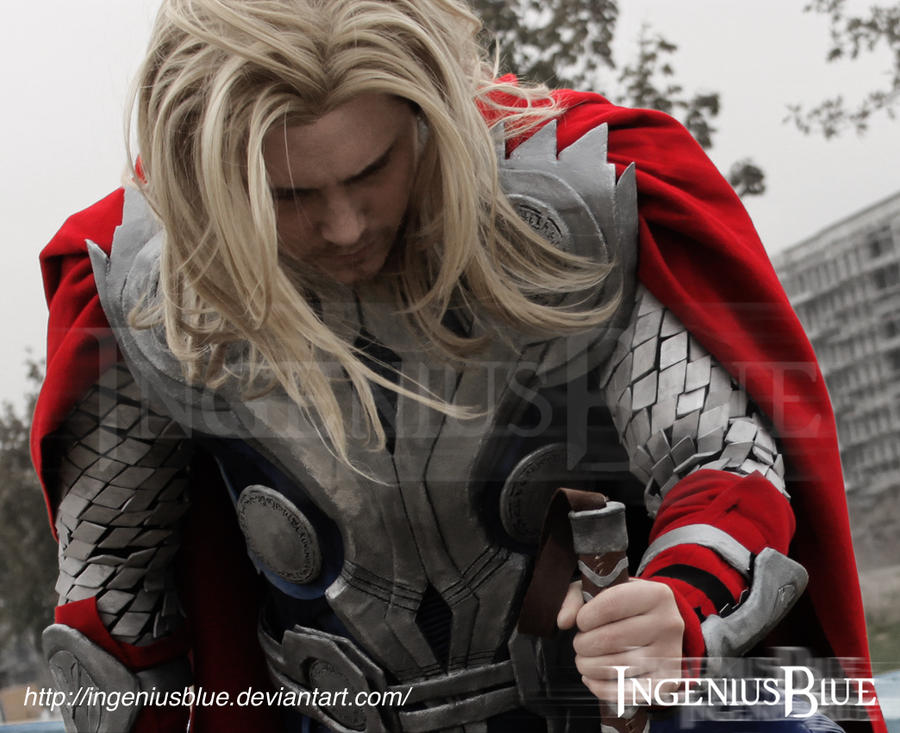Thor - God of Thunder by IngeniusBlue