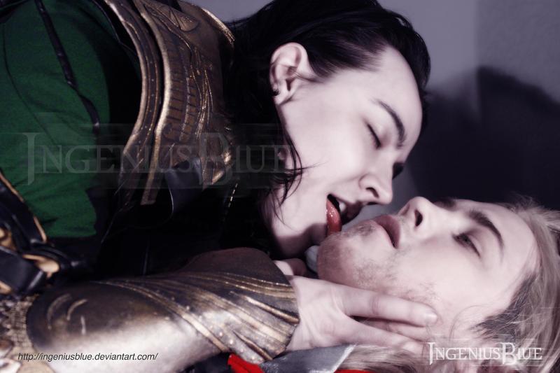 Thorki - The Taste Of Victory by IngeniusBlue