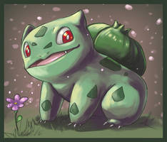 :Bulbasaur: by Delano-Laramie