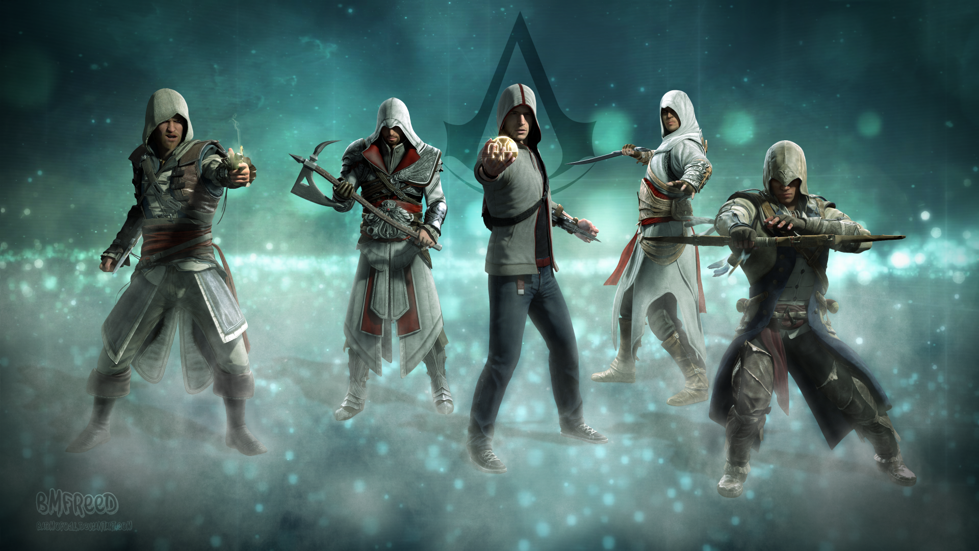 Assassin S Creed All Stars By Bmfreed On Deviantart