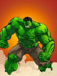 The Hulk - Colored