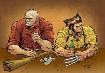 Southern Bastards and Wolverine - Colored