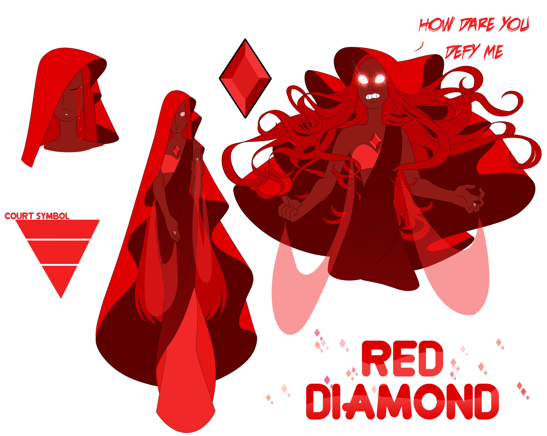 Su Oc Red Diamond By Seopai On Deviantart