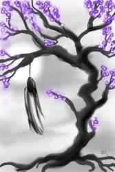Cerisier en fleurs Void by x8Finity