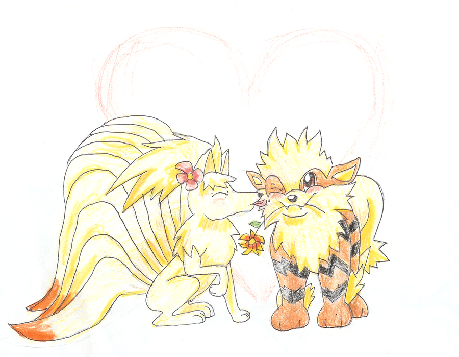 Arcanine and ninetails by CGskillz