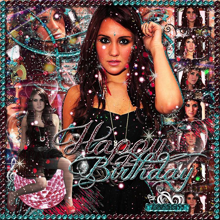 Happy 29th Birthday Dulce Maria by annie2377