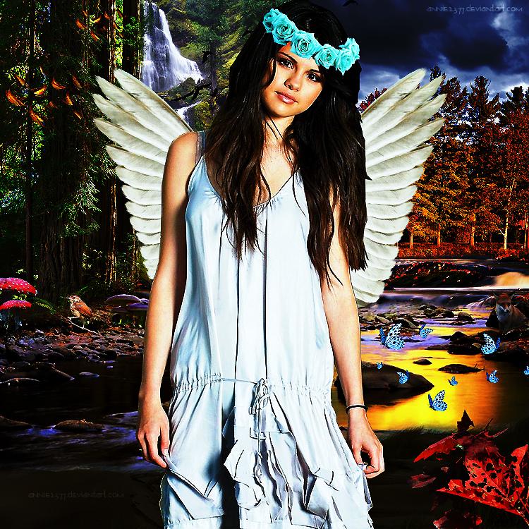 Selena Gomez Photopmanipulation by annie2377