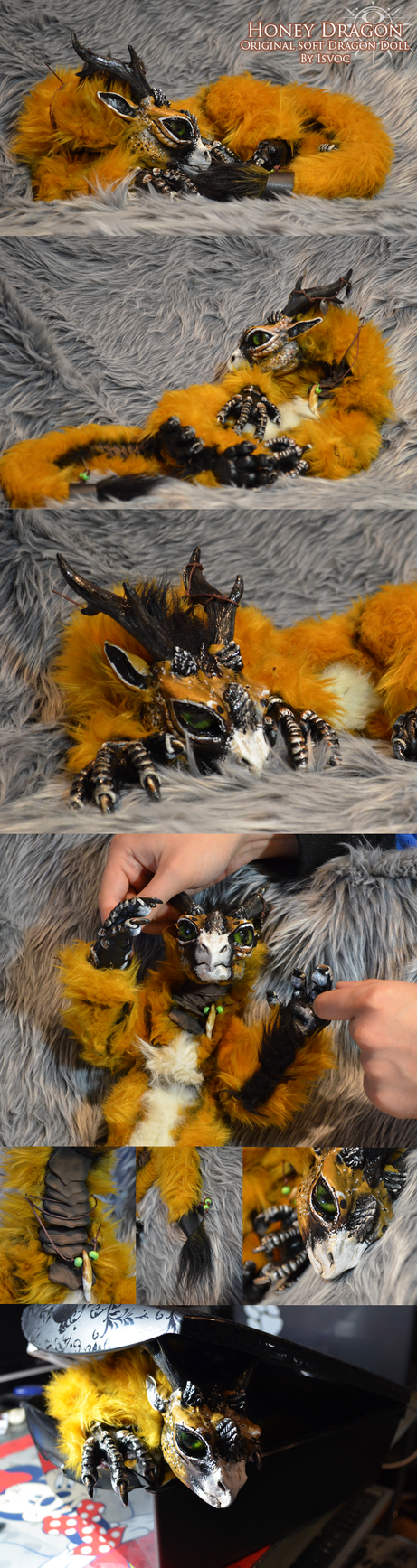 Honey Dragon Doll by Isvoc